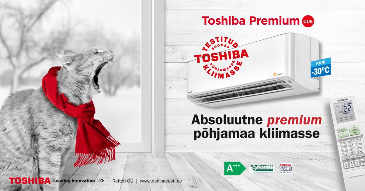 õhksoojuspump_Toshiba_Premium