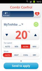 soojuspump juhtimine mobiiltelefoniga
