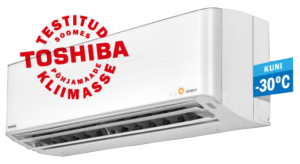 soojuspump Toshiba Premium Daisekai