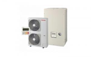 Õhk-vesi soojuspump Toshiba Ilves