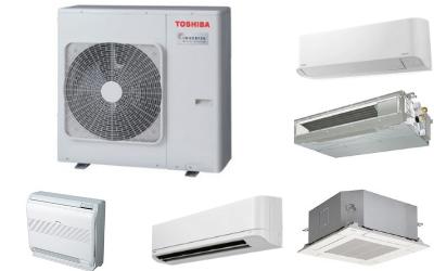 Õhksoojuspump Toshiba Multisplit